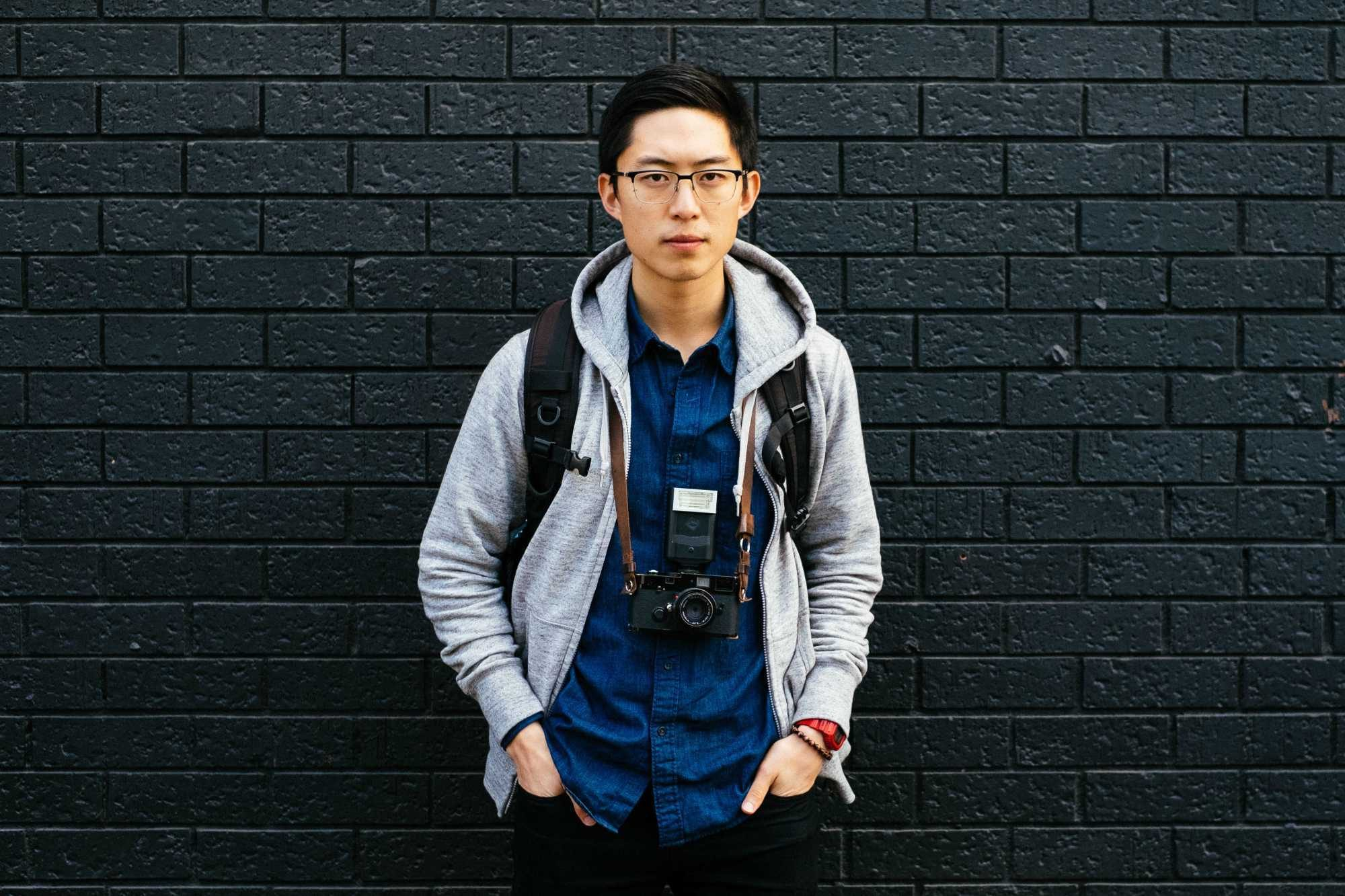 ERIC KIM x Leica MP x HENRI NECK STRAP x SF 20 Flash
