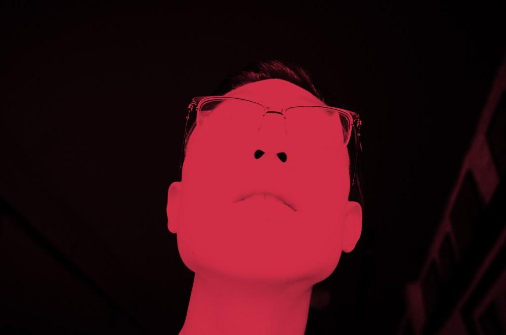 Eric Kim red selfie