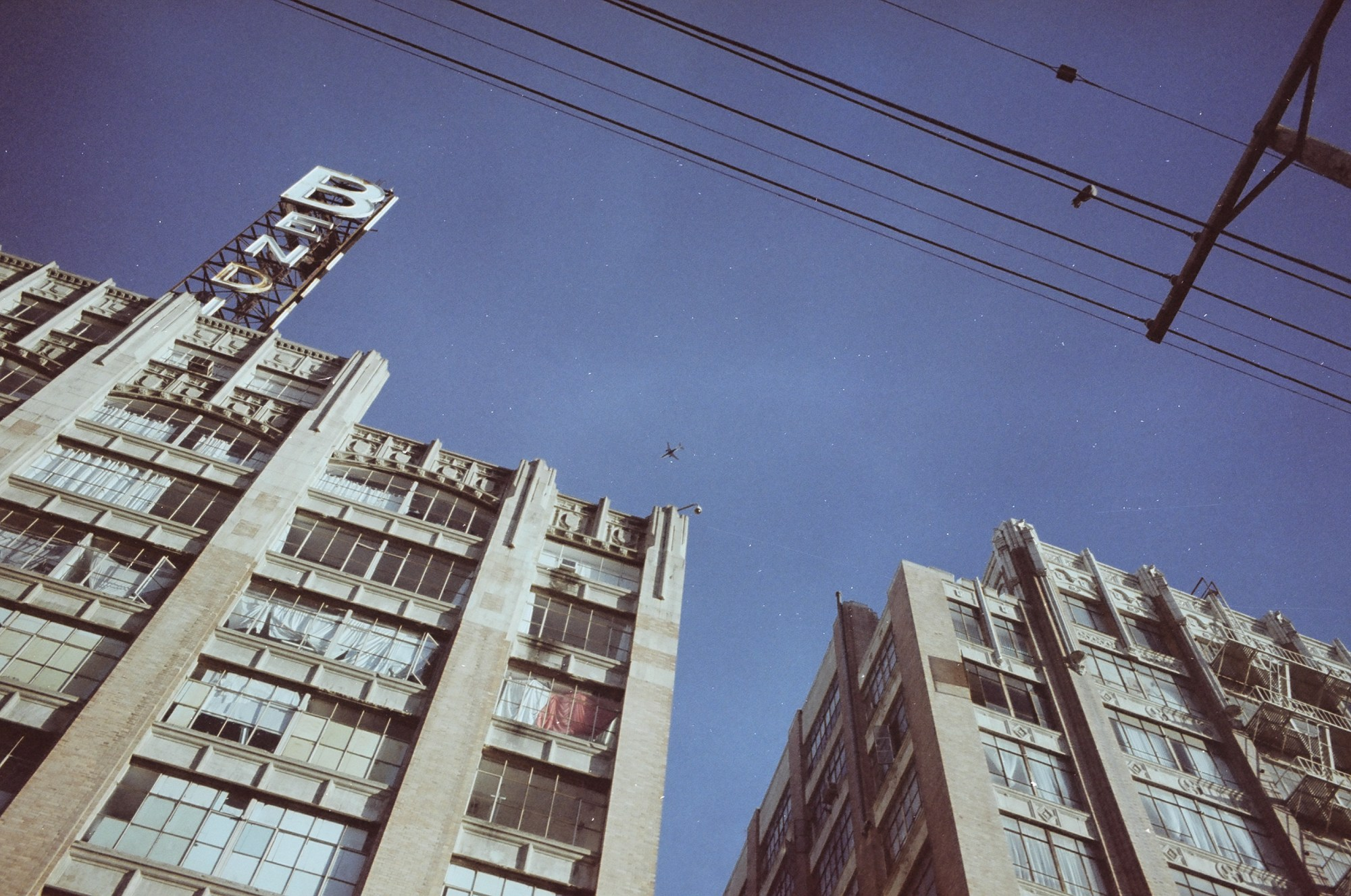 Downtown LA, 2013 #portra400