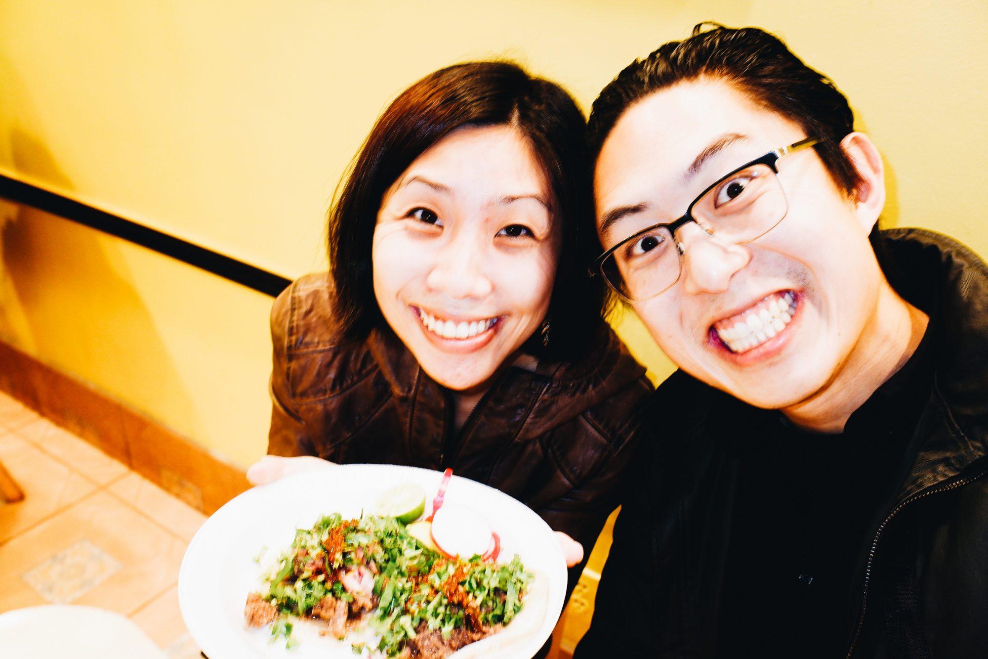 Eric Kim and Cindy selfie