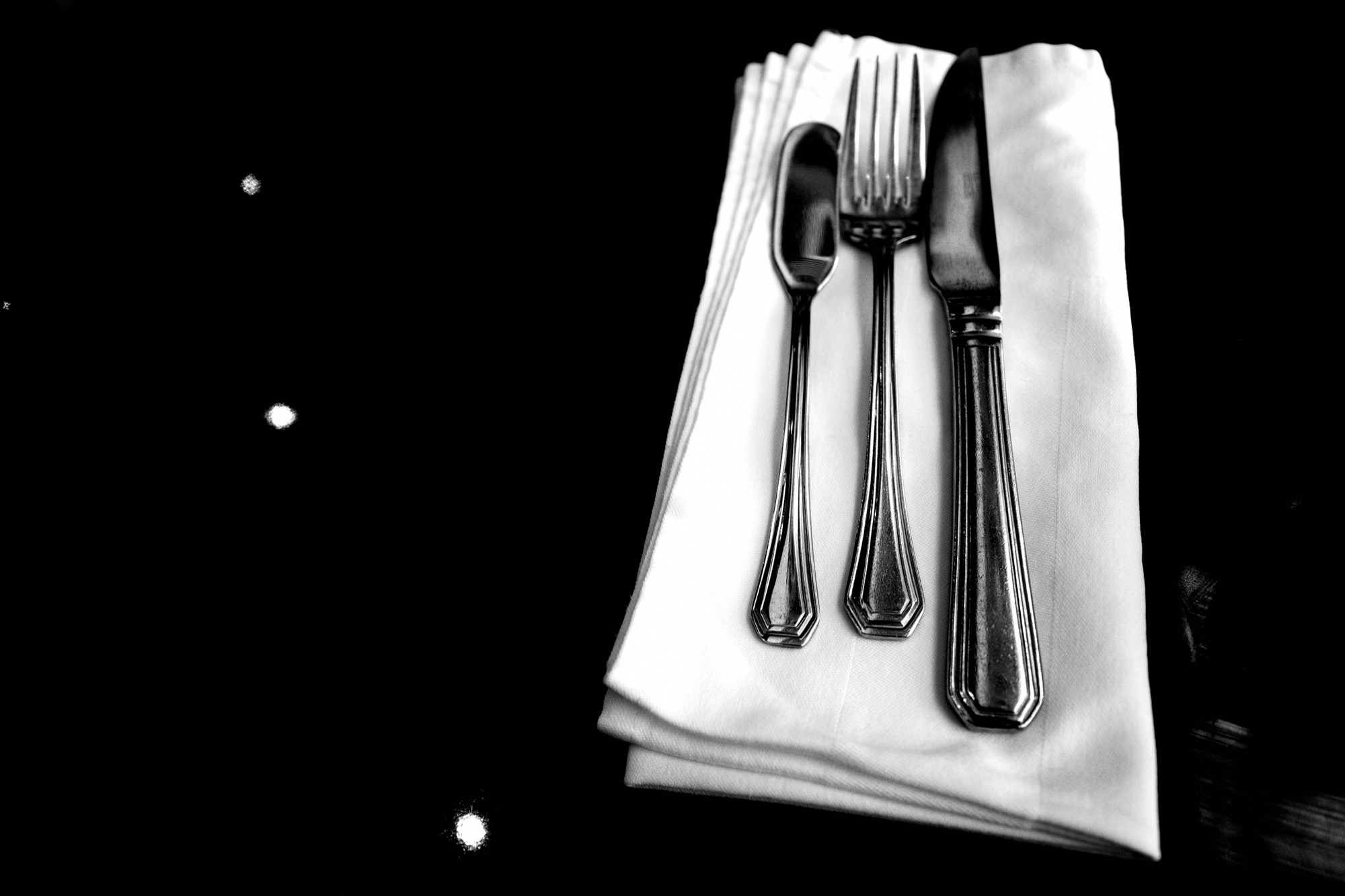 knives and fork