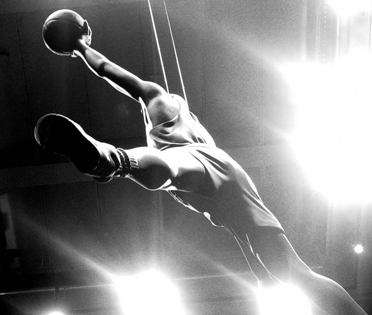 Michael Jordan jumpan