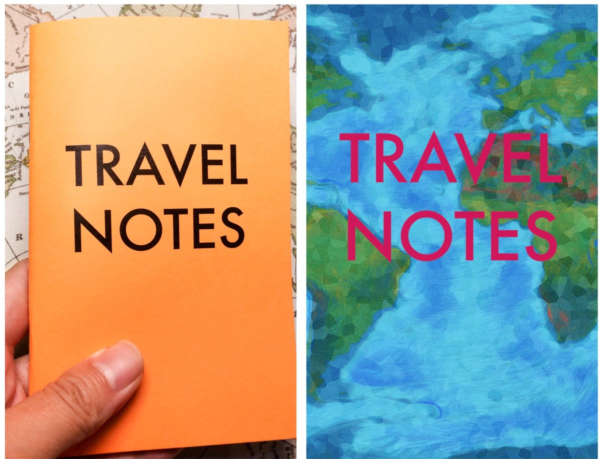 Travel Notes (Print Edition) and Travel Note (Mobile Edition)
