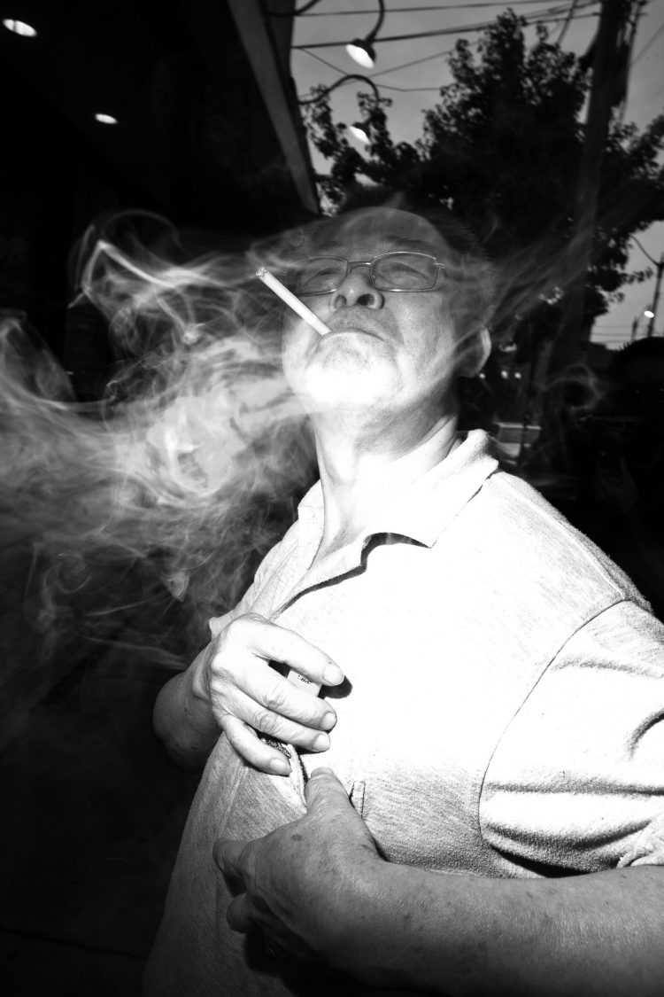 smoke flash