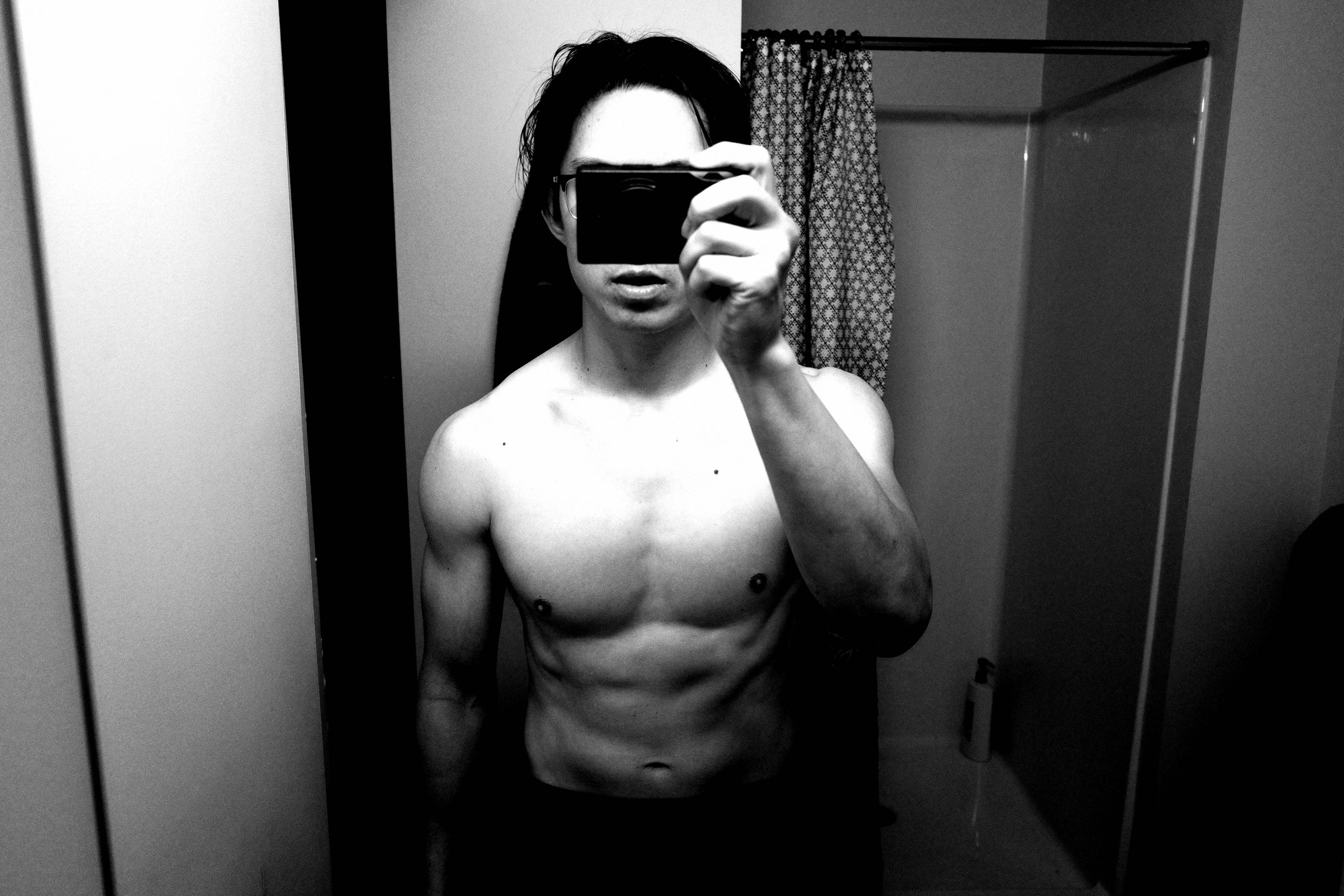 Selfie ERIC KIM camera muscle
