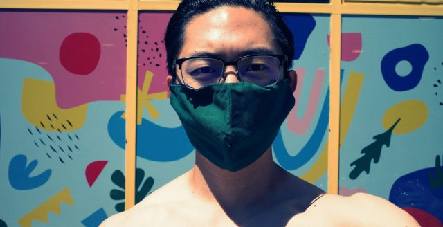 selfie face mask flesh
