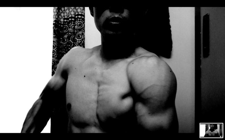 front flex muscle