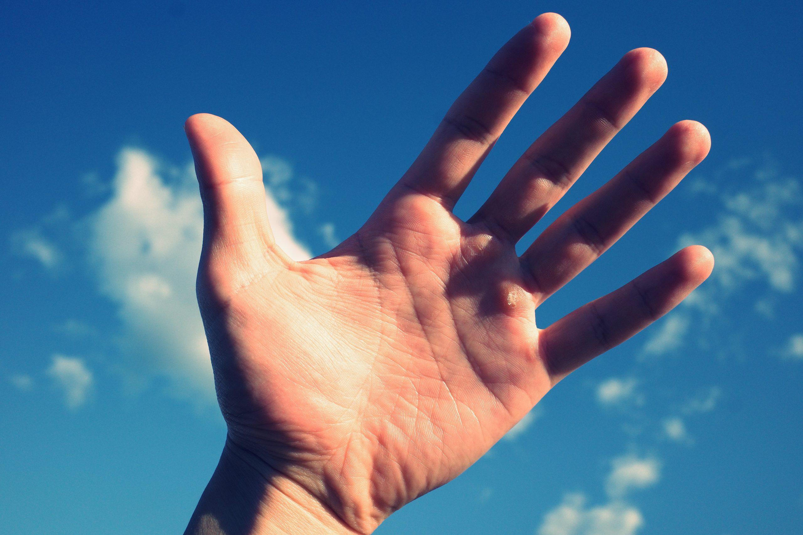 Hand eric kim sky