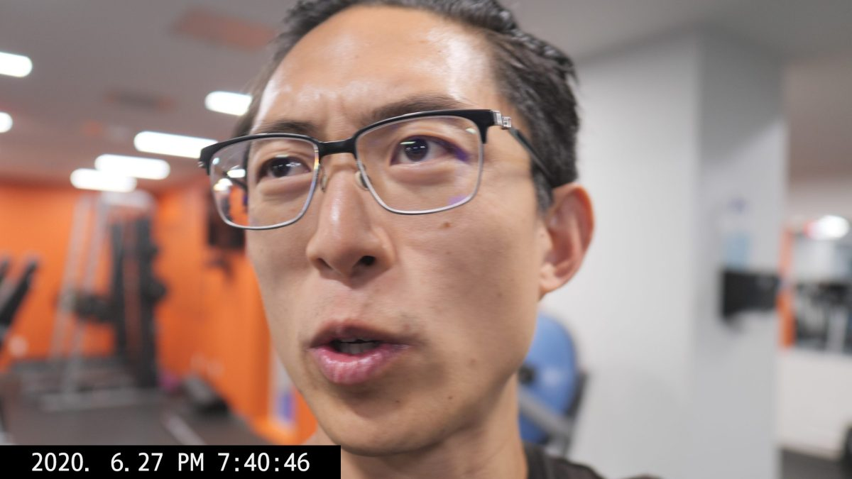 talking selfie vlog ERIC kim