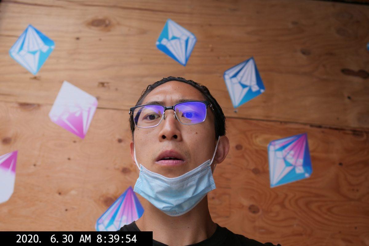 selfie ERIC KIM diamond