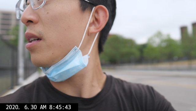 ERIC KIM selfie vlog