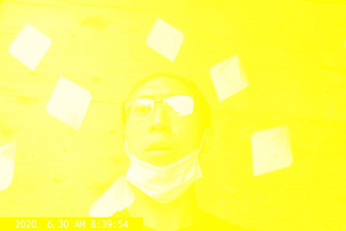 Selfie yellow ERIC KIM