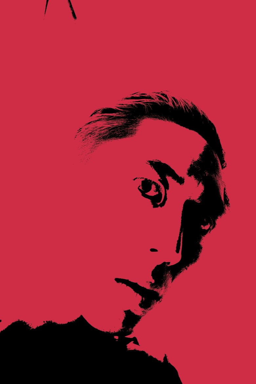Red selfie crimson ERIC KIM icon