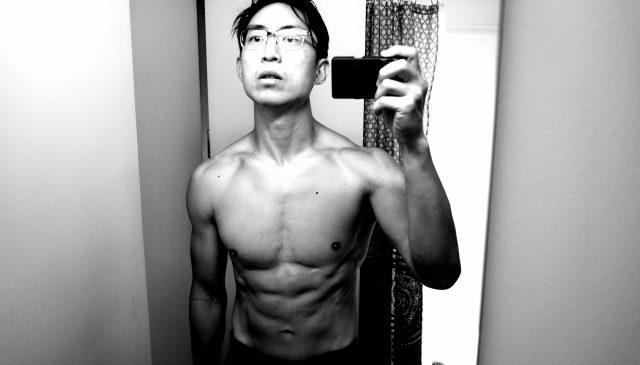 selfie ERIC KIM topless