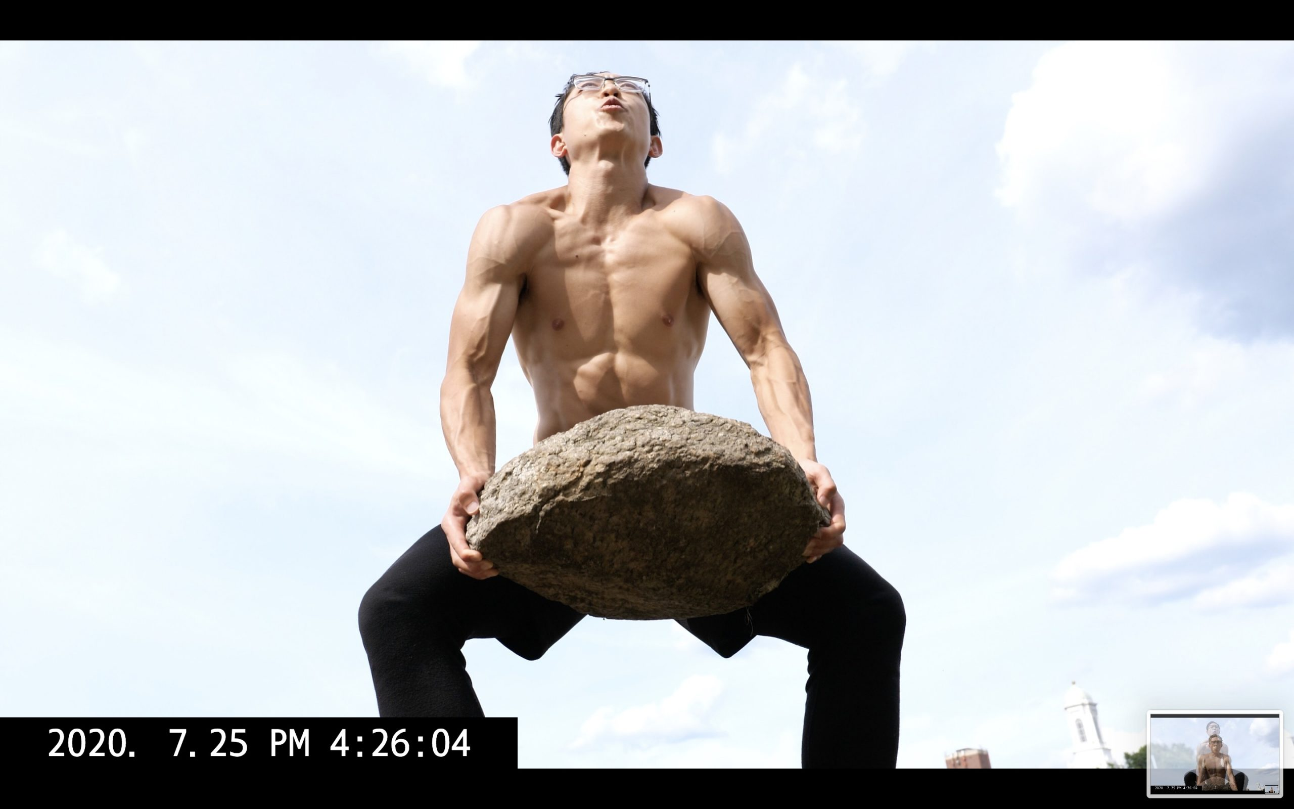 rock toss