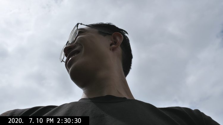 selfie ERIC KIM park