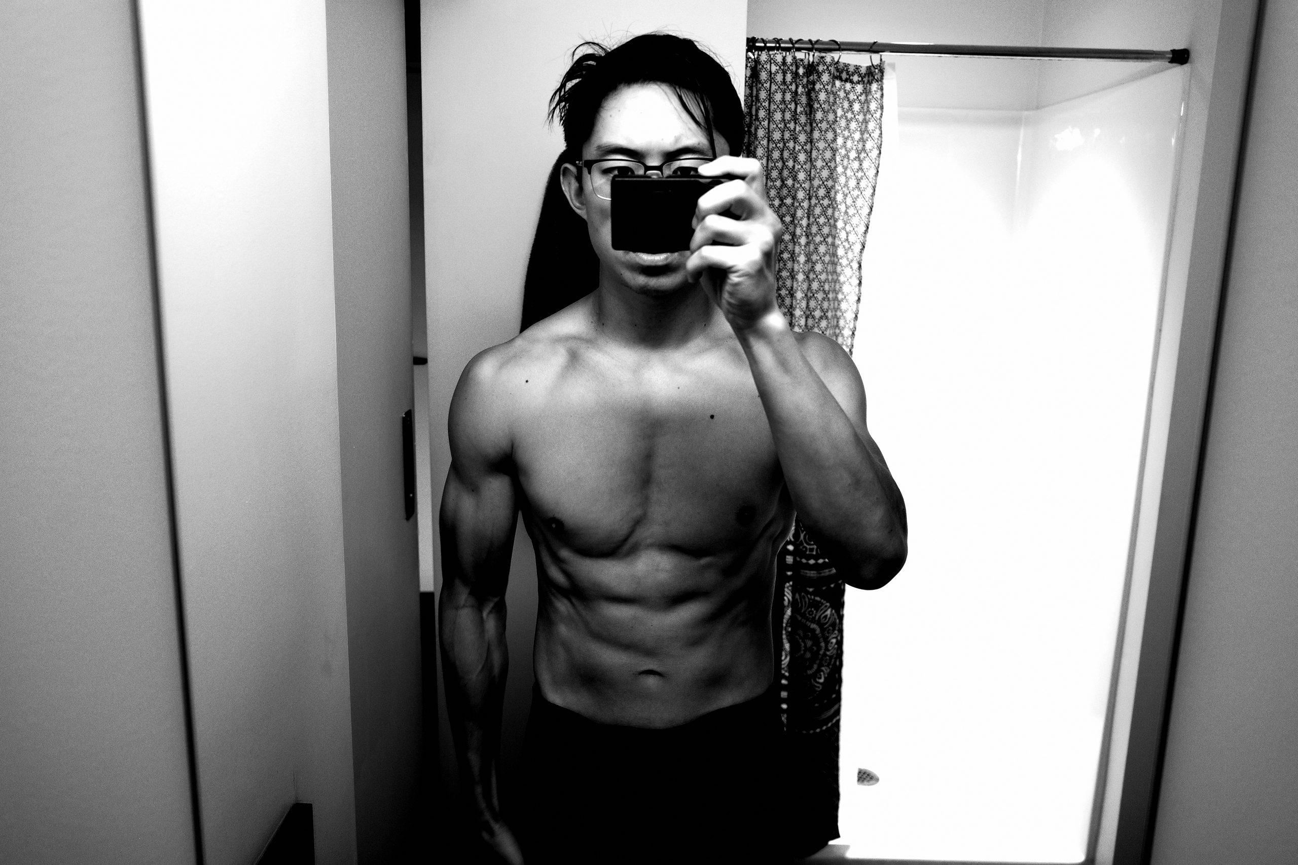 Front muscle flex ERIC KIM