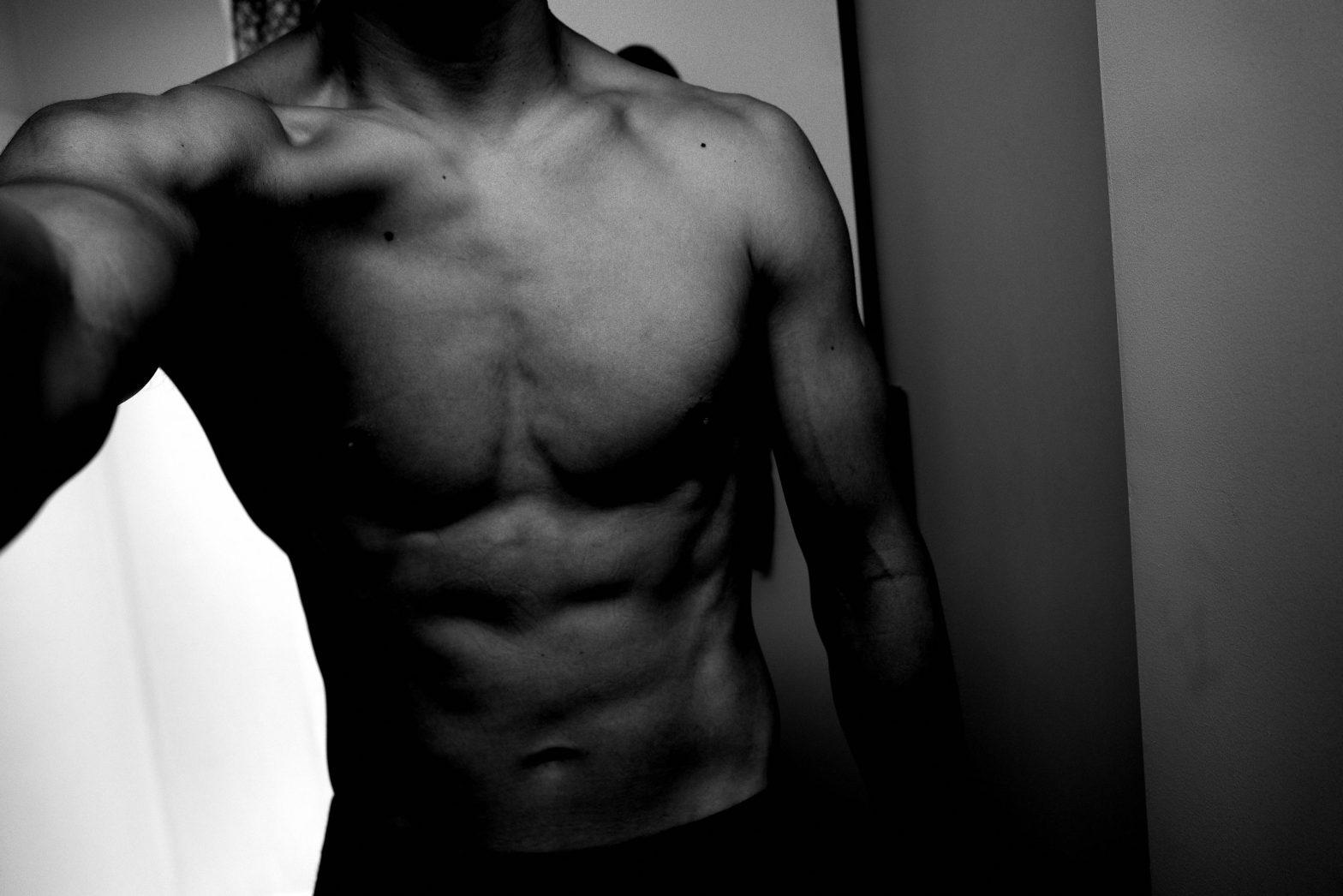 selfie ERIC KIM muscle body
