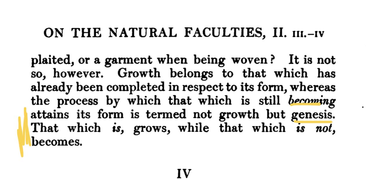 Galen natural faculties
