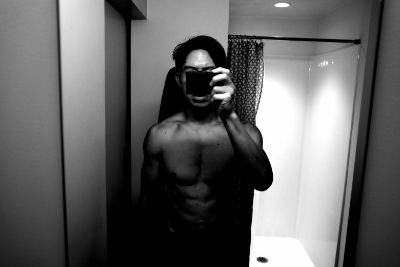 selfie front muscle ERIC KIM