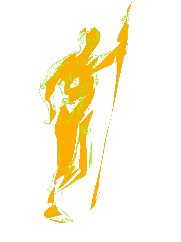 Human nude ERIC KIM male