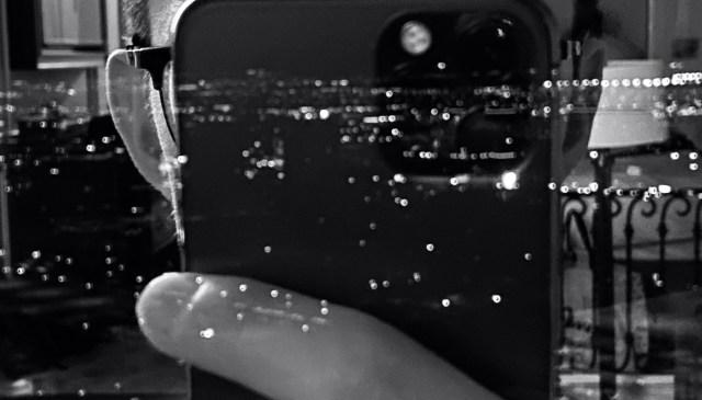 iPhone pro selfie