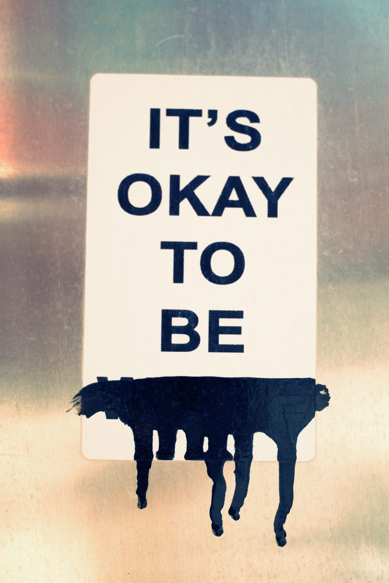 it's okay to be blank you
