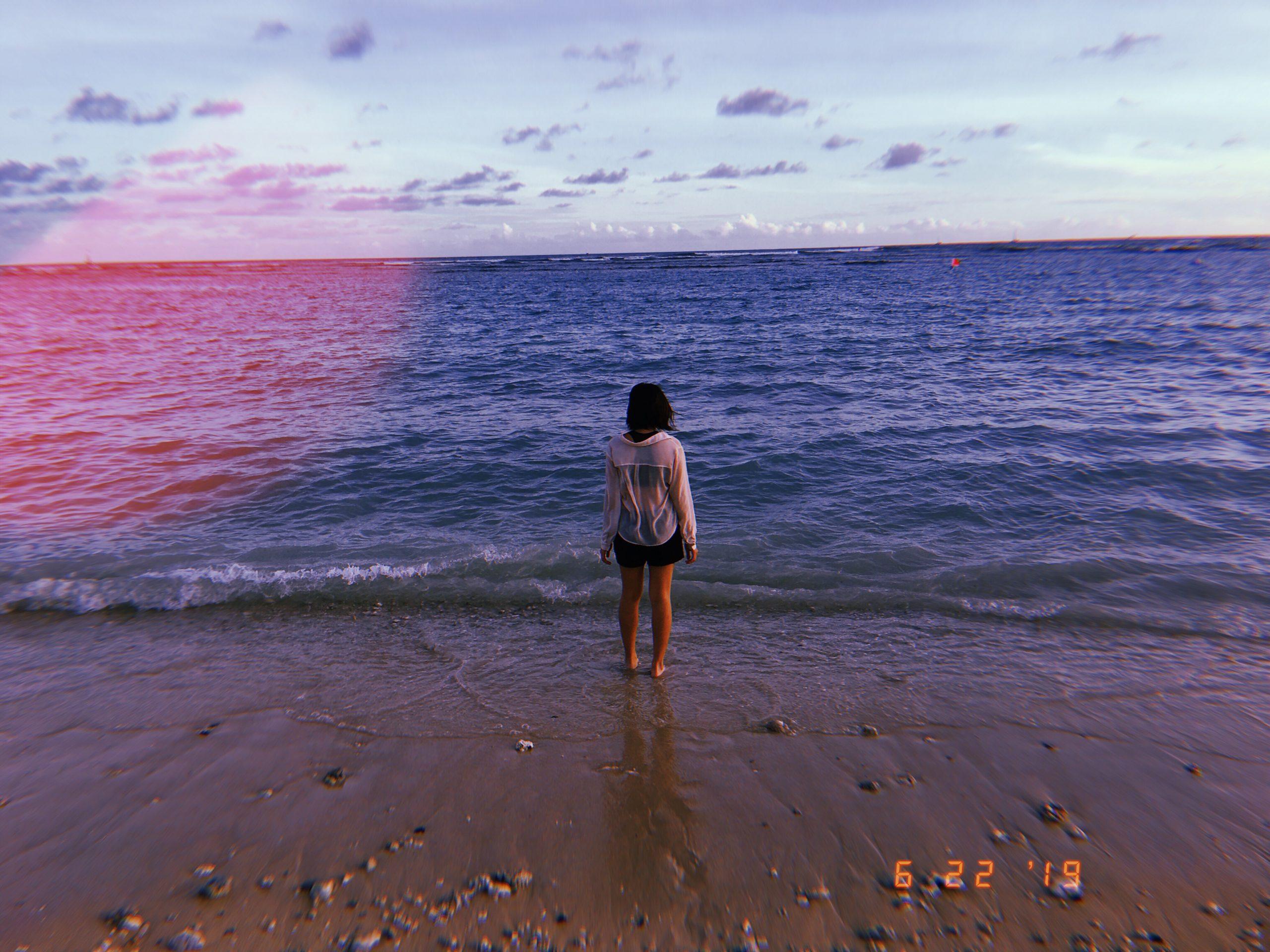 cindy beach water Hawaii