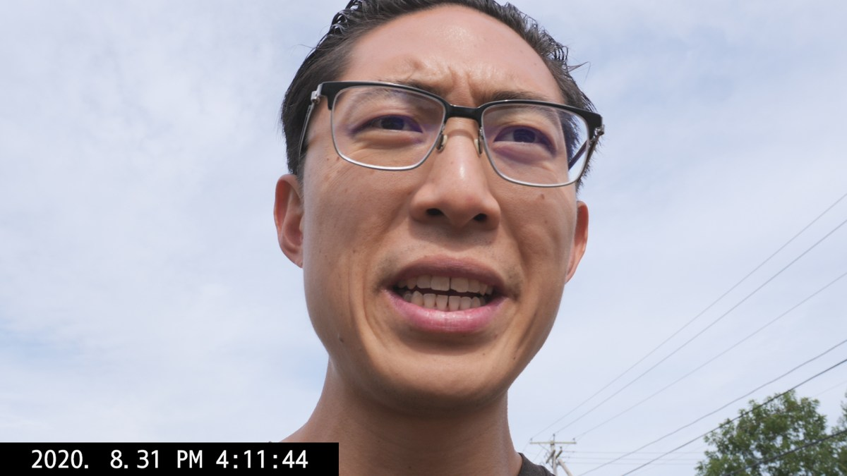 ERIC KIM selfie talking individual economics