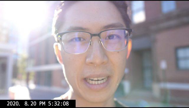 selfie ERIC KIM vlog
