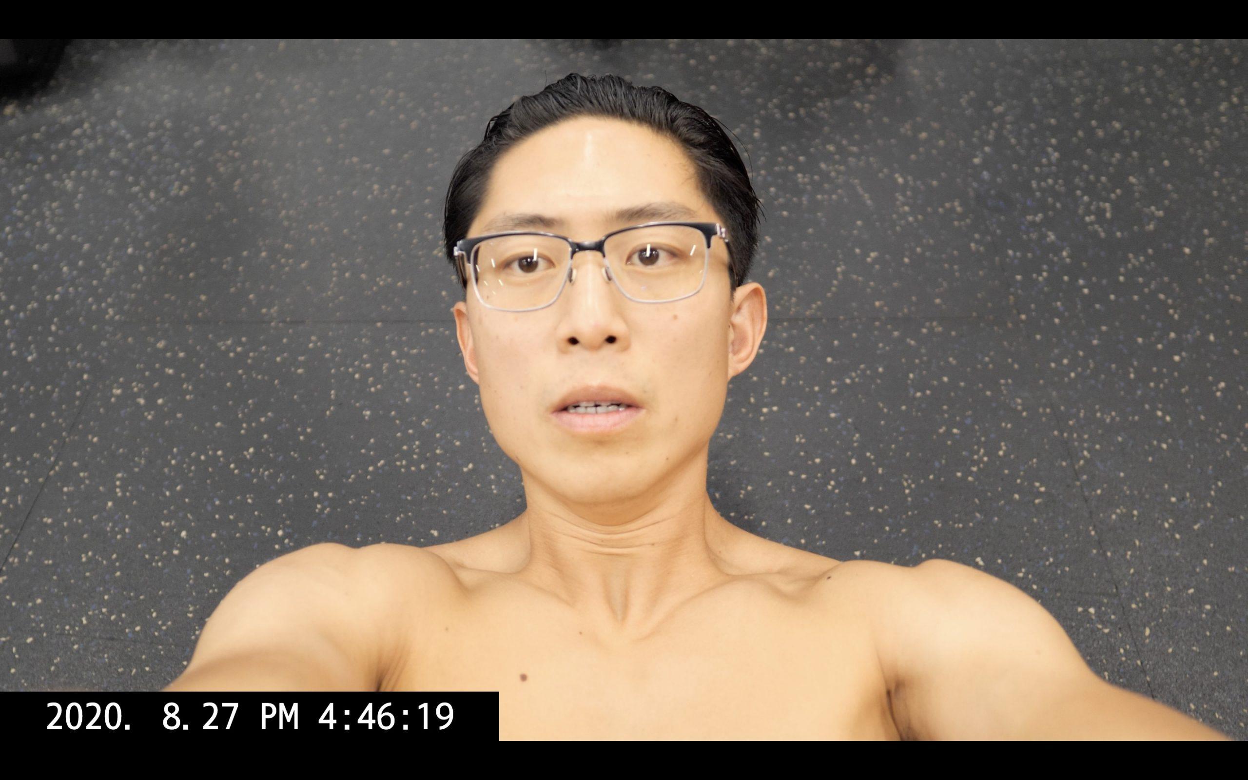 Selfie ERIC KIM gym