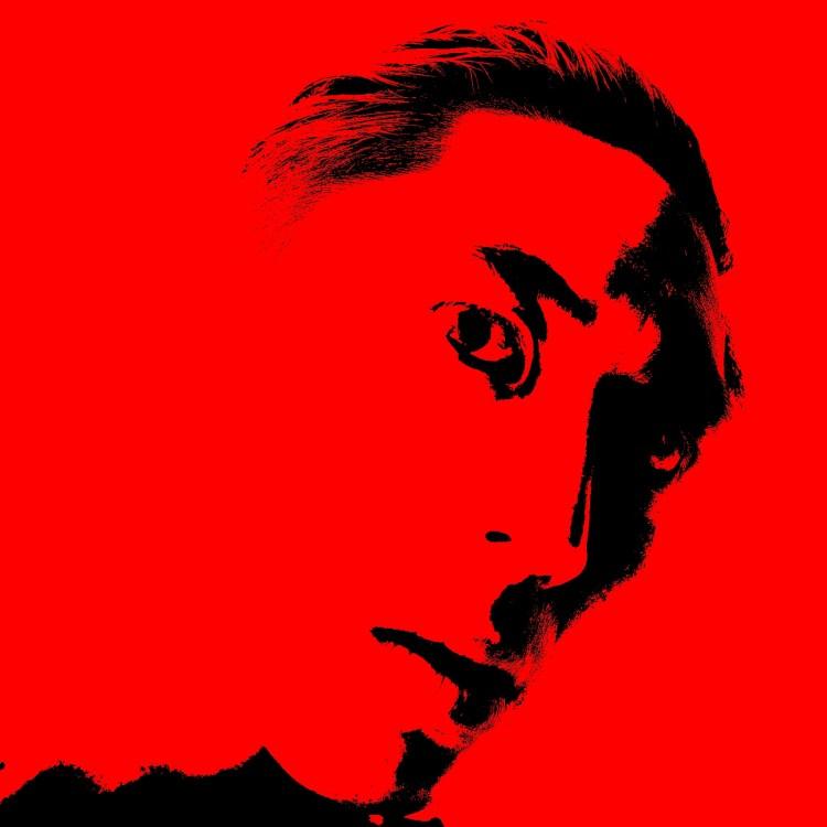 ERIC KIM red black icon site