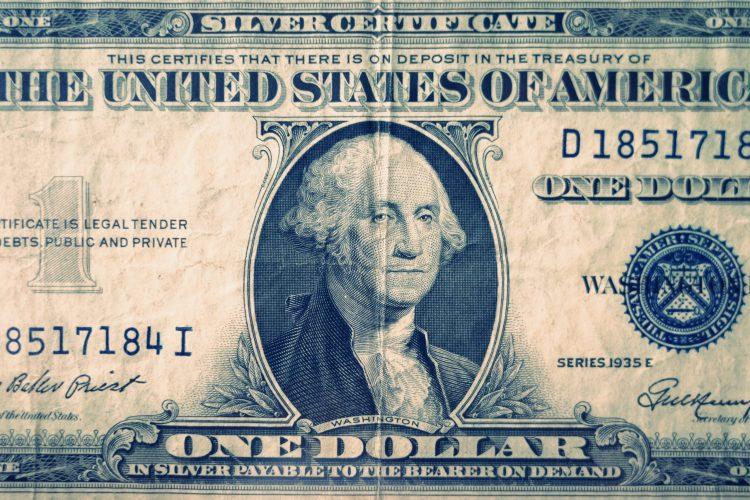 silver certificate US dollar