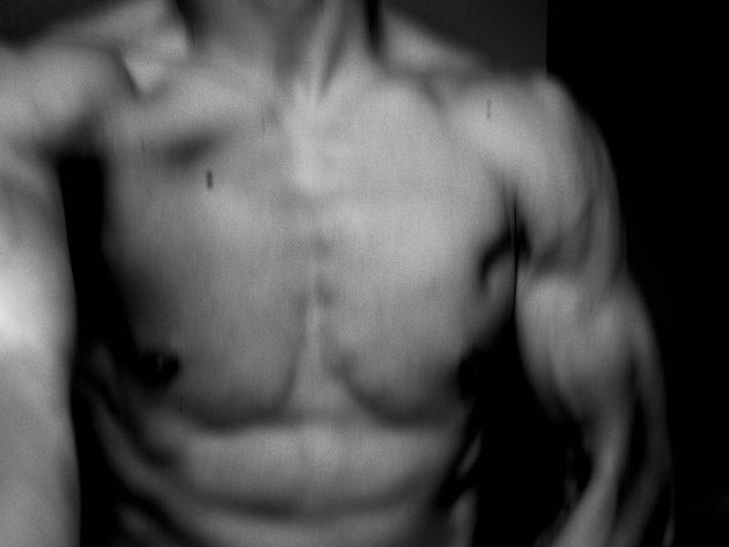 ERIC KIM muscle flex