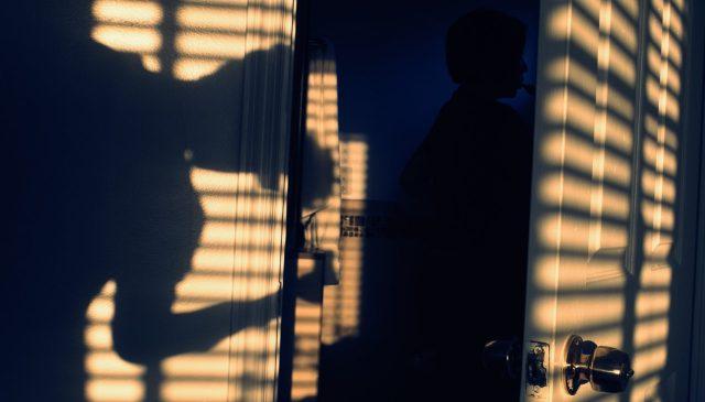 Selfie light shadows ERIC KIM cross process