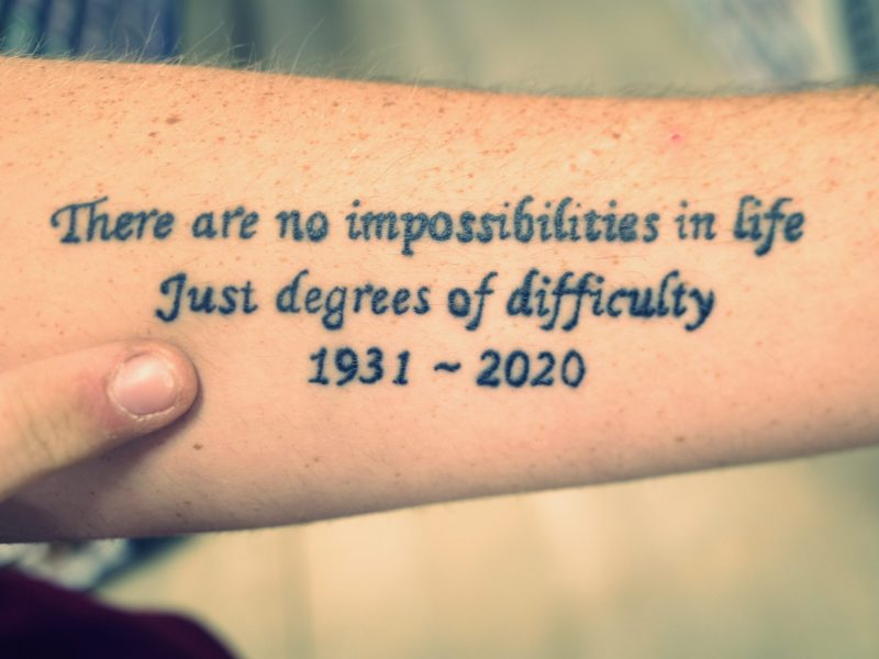 there are no impossibilities in life just degrees of difficulty