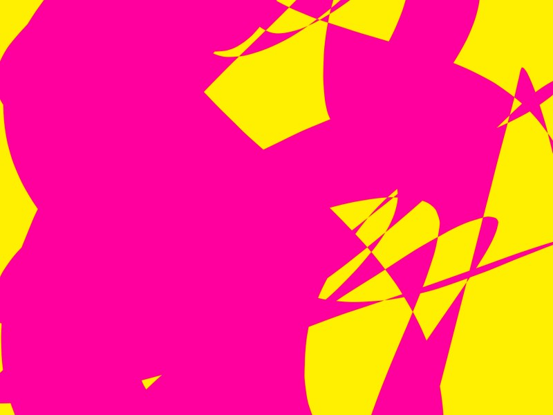 pink yellow abstract ERIC KIM