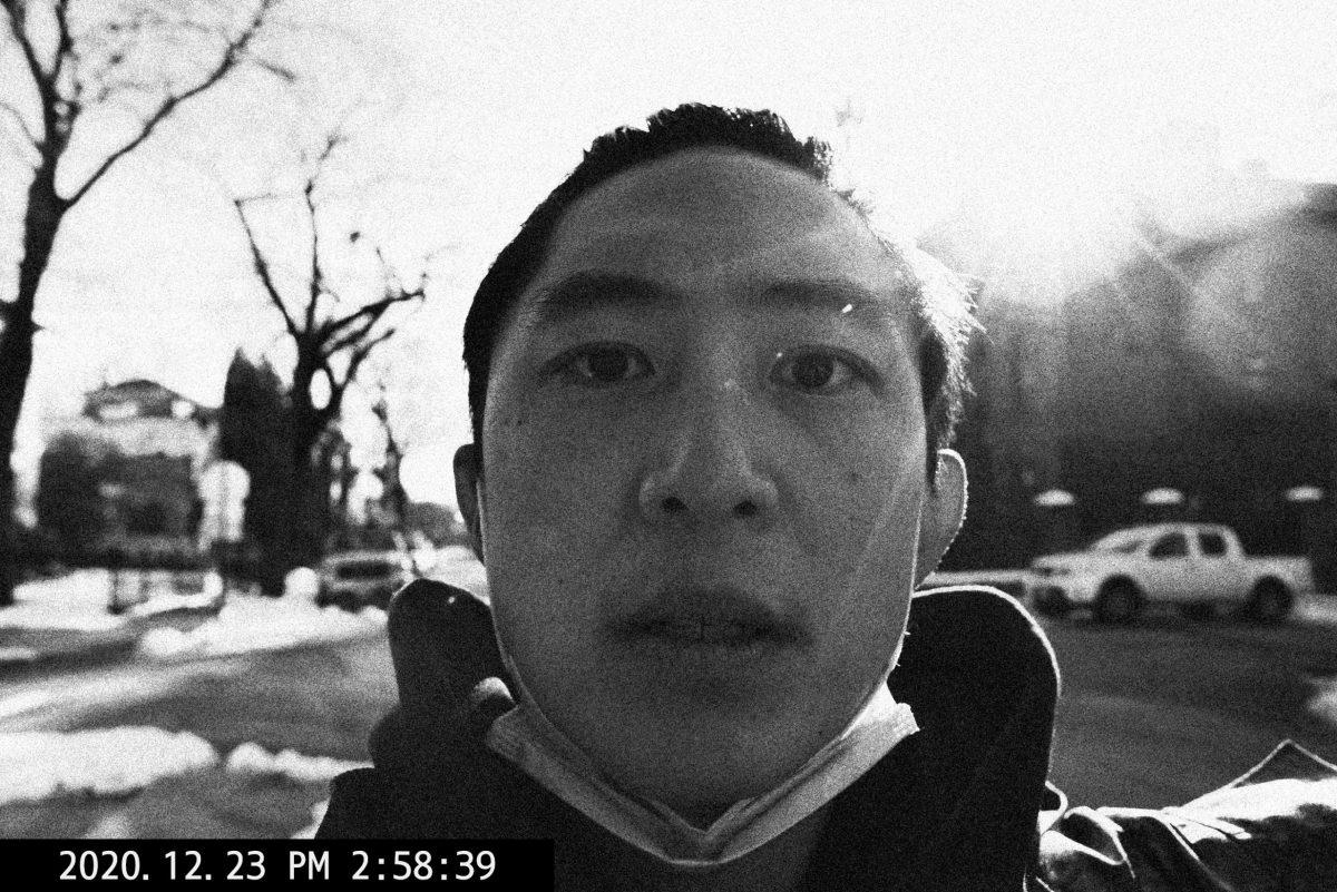 selfie face no glasses