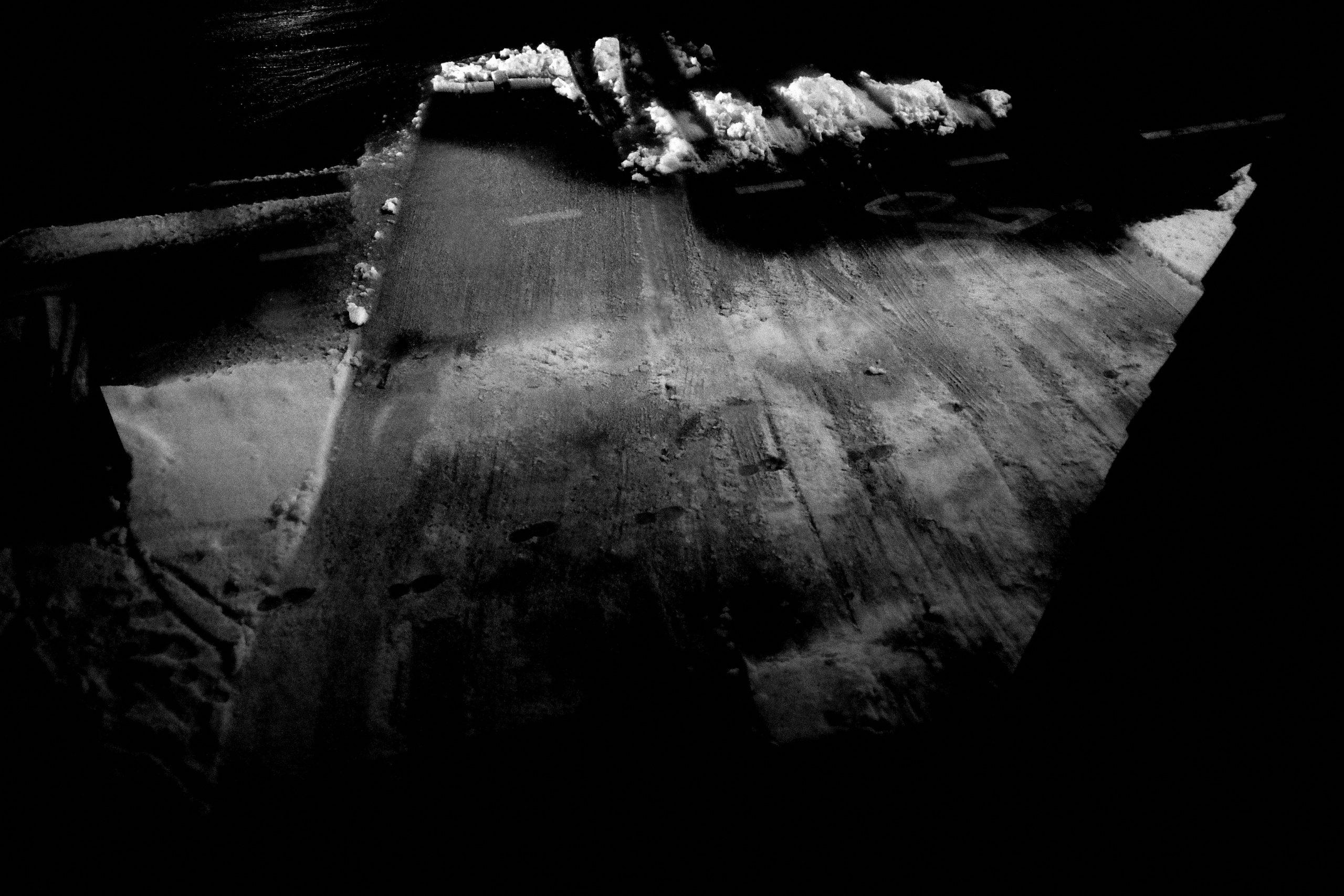 snow abstract ERIC KIM