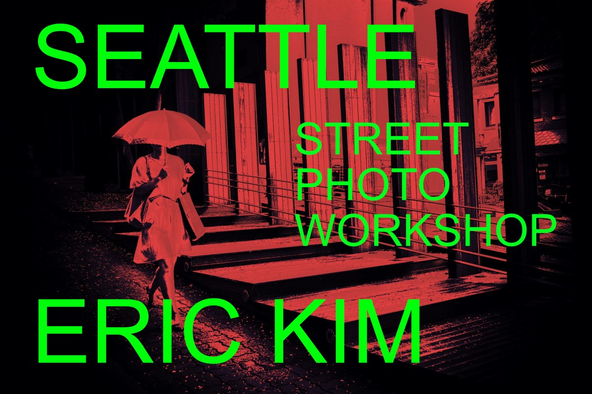 SEATTLE workshop street photography workshop ERIC KIM
