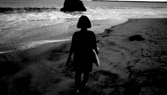 cindy walking beach