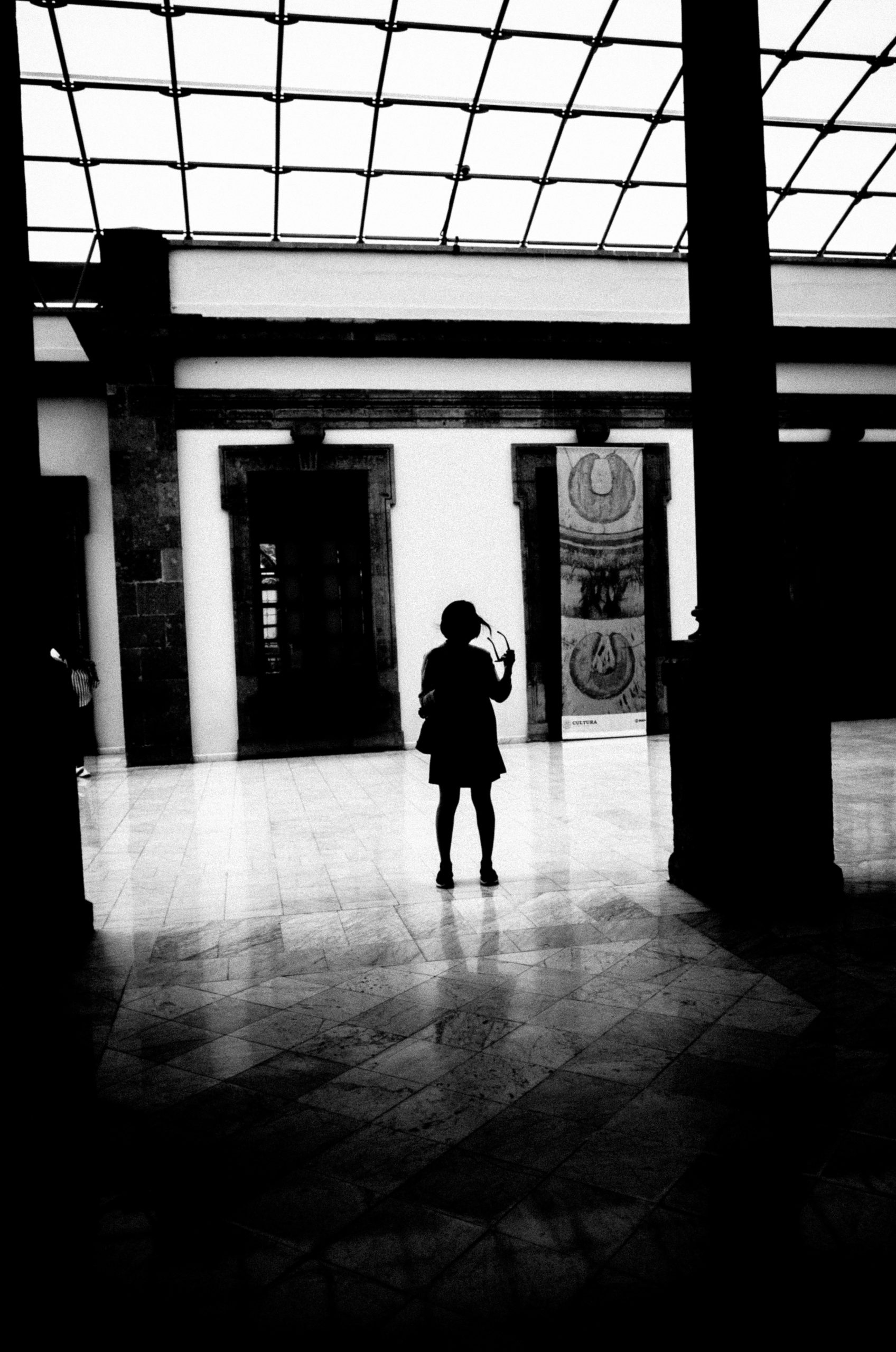 Cindy abstract silhouette Mexico City