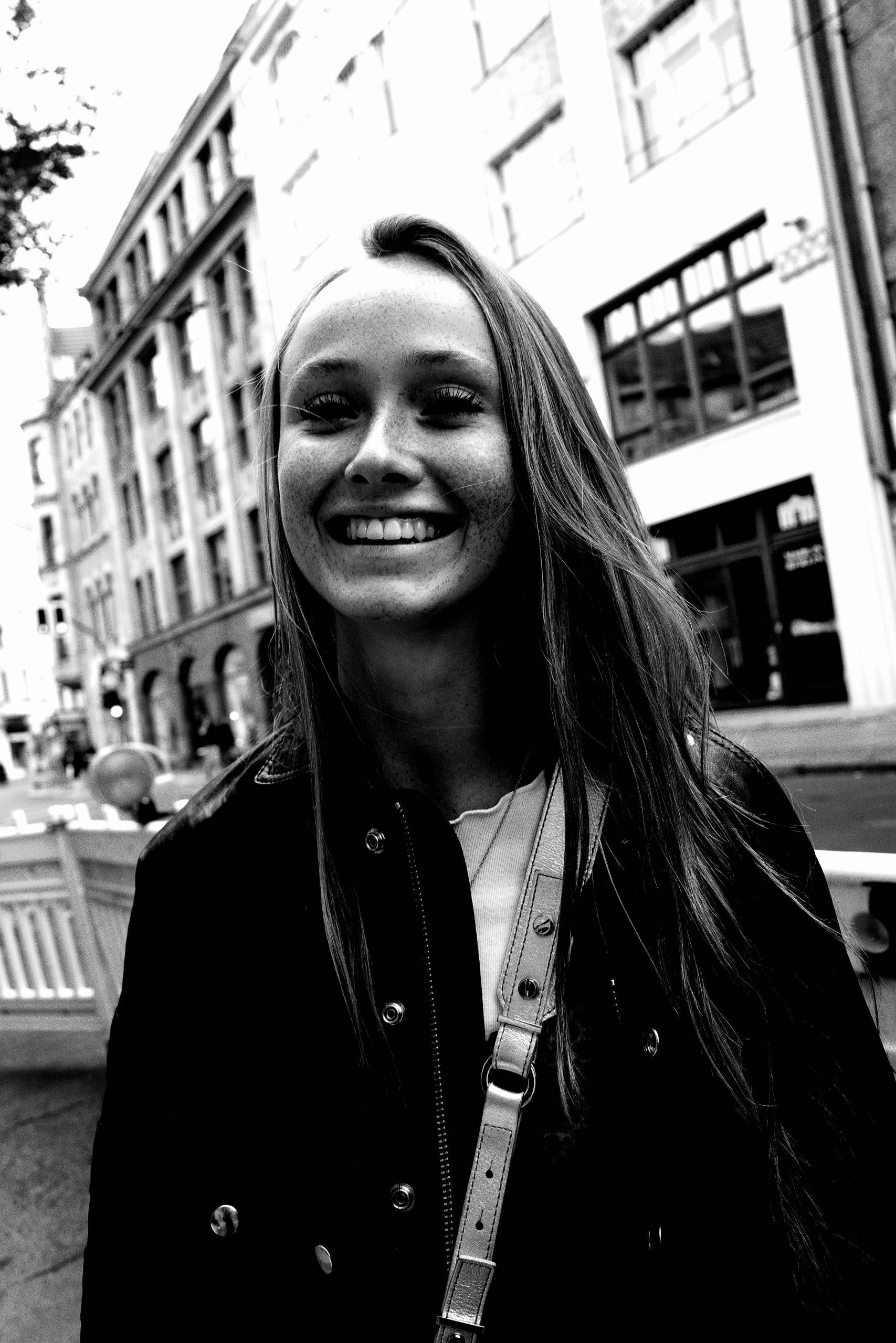 street portrait Berlin ERIC KIM black and white