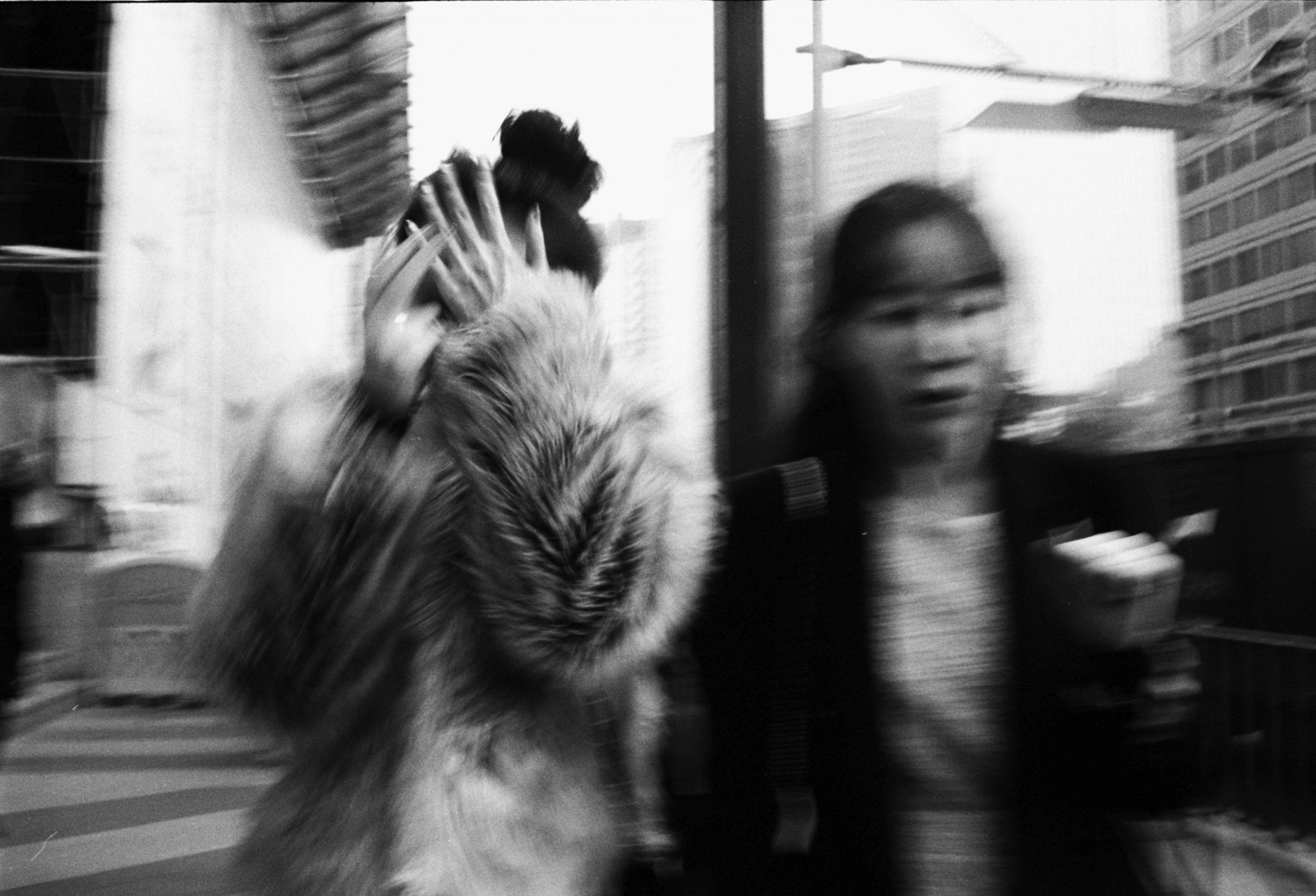 flash street photography Seoul