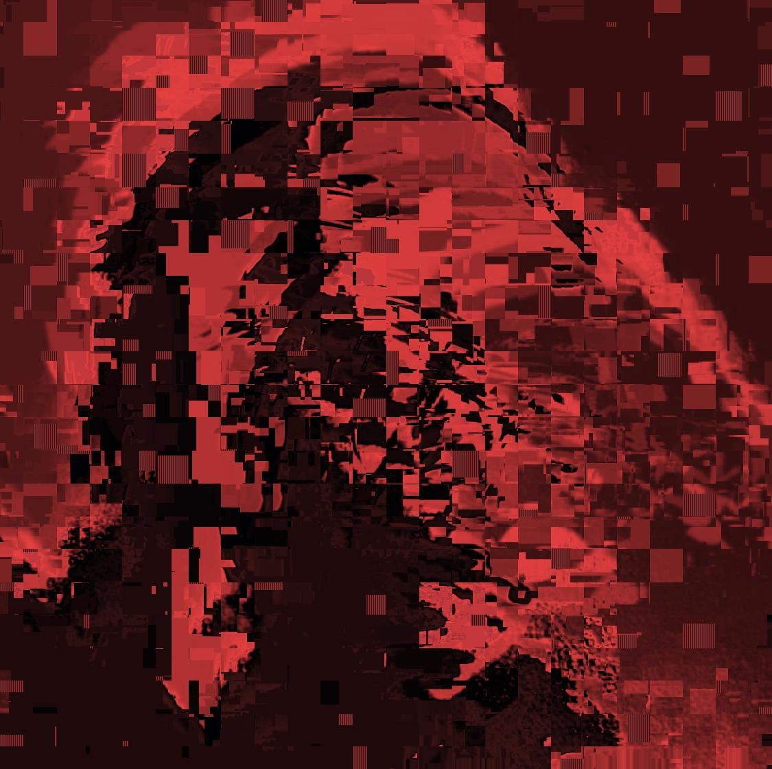 selfie black and white ERIC KIM crimson red