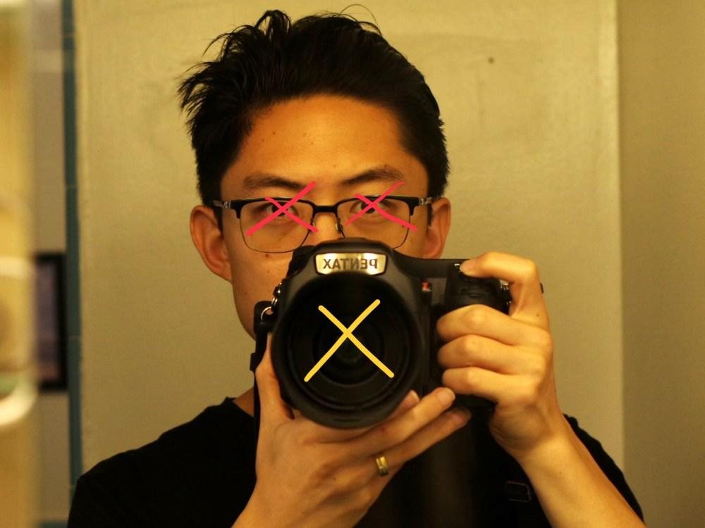 Eric kim observe Pentax closeup