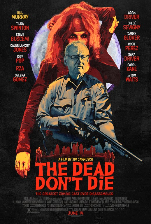jim jarmusch, erick mertz author, the dead don't die