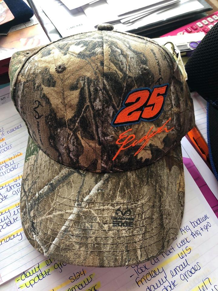Erick Rudolph 25 Camo Hat