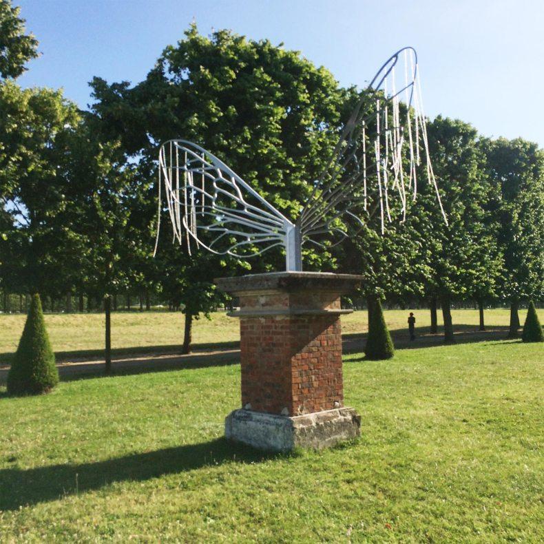 Eric Le Maire, Les Ailes, Jardins de mémoire, Saint-Germain-en-Laye