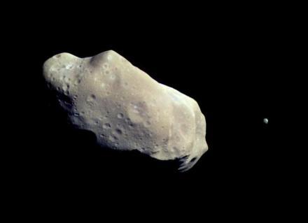 243 Ida and moon Dactyl